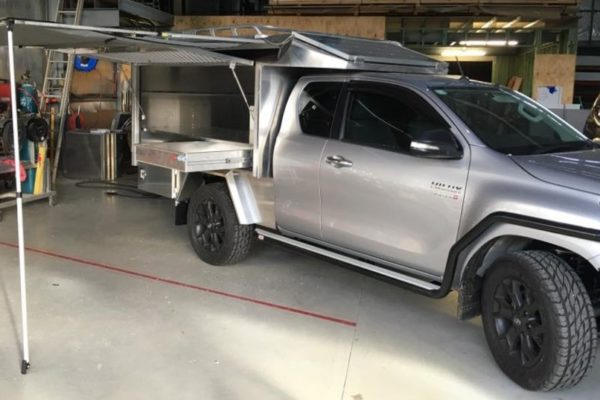 Hilux Canopy Design and manufacture