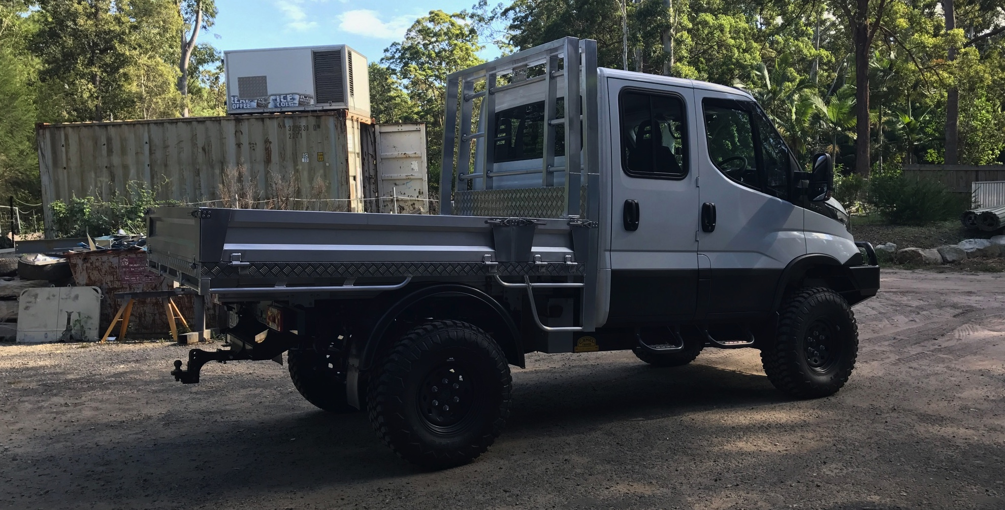 Iveco Monster Tray Daily 4x4 Penny Industries